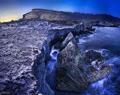 Castillo de Los Escullos (Parque Natural de Cabo de Gata, Almería, Spain) by dleiva, via Flickr