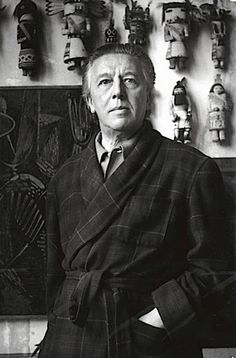 André Breton and his kachina dolls, rue Fontaine, Paris Anré Breton et ses poupées kachinas
