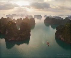 Vietnam, Halong Bay - the most beautiful bay in the world!