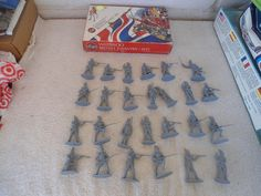 Airfix #51461 1/32 54mm Waterloo British Infantry 1815 Plastic Military Figures #Airfix