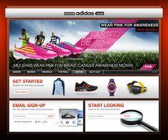 adidas : In-store Kiosk - marc lassoff : art director