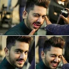 Oh just so cute.he is the cutest.my first crush.ohhh my God. Love U So Much, Cute Love, Tv Actors, Actors & Actresses, Zain Imam Instagram, Sajal Ali, Dear Crush, Awesome Beards, Purple Love