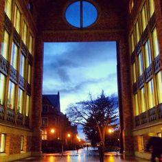 Evening stroll at UW!