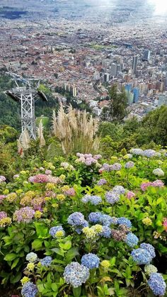 View from Monserrate Bogota | Local Tips: 6 Authentic Things To Do In Bogota Colombia