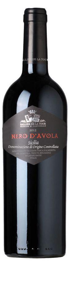 Vino Sallier de la tour Tasca d Almerita Nero d Avola DOC 2013 cl 75