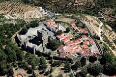 vista aérea, Bragança