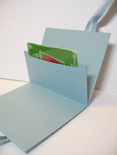Lynda's Quiet Time: Easy Peasy Gift Card Holder