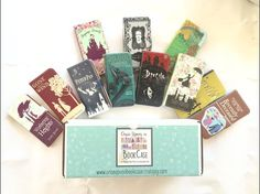 <p>Phone Cases designed to look like Books- Combining Fashion with a Love for Literature...Monthly!</p>