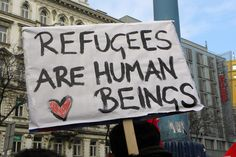 refugees are human beings oki