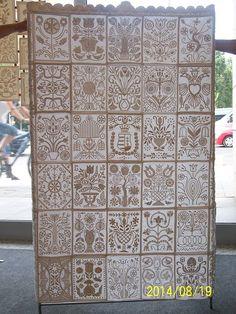 Hungarian quilt - kályha (boutis)