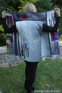 """The back of """"Off The Grid."""" http://designsbyheidi.wordpress.com/ Great blog with fun styles!"""