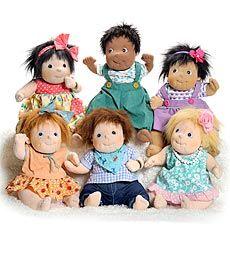 Rubens Barn Dolls | multiethnic baby dolls