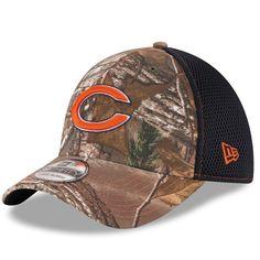 1b576165df1 Chicago Bears New Era Realtree Camo Neo 39THIRTY Flex Hat