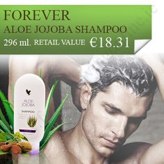 Aloe Jojoba Shampoo - With all the benefits of aloe vera and jojoba oil, aloe jojoba shampoo has been prepared. It is able to give you shiny and easy to manage hair. Jojoba Shampoo, Jojoba Oil, Forever Aloe, Forever Living Products, Aloe Vera, Ireland, Easy, Irish