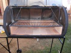 Masterbuilt asador de carbón con ruedas