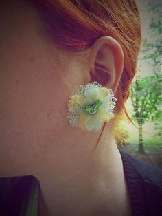 Štebotavce na čipke by Martinuska - SAShE. Handmade Earings, Jewelry, Fashion, Moda, Jewlery, Jewerly, Fashion Styles, Schmuck, Jewels