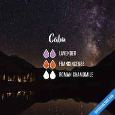 Calm - Essential Oil Diffuser Blend #Aromatherapy #aromatherapysleeprecipes