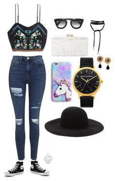 """""""Summer days"""" by beehive9429 ❤ liked on Polyvore featuring Prada, Topshop, Converse, BCBGMAXAZRIA, Forever 21 and Dolce&Gabbana"""
