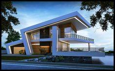 Unfolding modern architecture by WKA architects