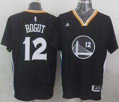 "$23.88 at ""MaryJersey"" (maryjerseyelway@gmail.com) Warriors 12 Andrew Bogut Black New Alternate Stitched NBA Jersey"