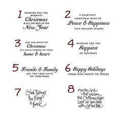 Fun Christmas Card Sayings Thecannonball Org
