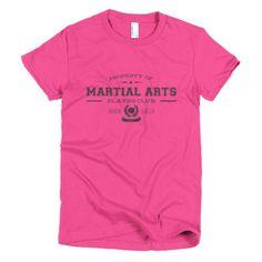 PLAYRS Club Women's Martial Arts T-Shirt – Dark