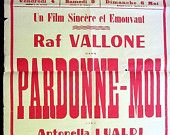 Murder Mystery in Italy Old Italian Film Poster