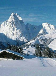 Mt. Eggli Gstaad Switzerland