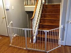 Baby Gate For Irregular Stair Opening Baby Gates Diy