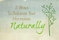 5 Ways To Balance Your Hormones Naturally | PrimallyInspired.com