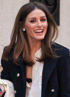 Olivia Palermo, corte de cabelo médio (fotos inspirações)