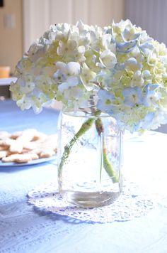 Idée florale #bapteme