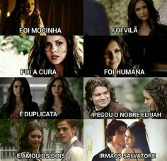 Ela mesma ❤ The Vampires Diaries, Serie Vampire Diaries, Vampire Diaries The Originals, Katherine Pierce, Frases Tvd, The Mikaelsons, Vampire Daries, Hello Brother, Hope Mikaelson