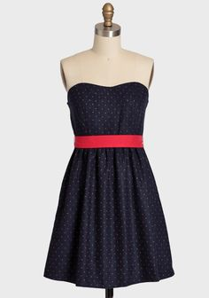 Lovely Greeting Polka Dot Dress | Modern Vintage Affordable & Adorable | Modern Vintage Features