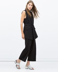 WAISTCOAT WITH BELT-Jackets-WOMAN | ZARA United States