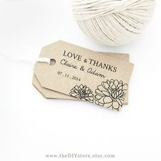 Favor Tag Printable, Text Editable, MEDIUM size, Wedding Tag, Gift Tag, Wedding Labels - Hang Tags, INSTANT Digital Printable