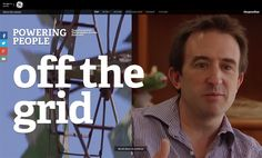 TOOL - ShortHAnd > GRID Powering People: off the grid, the Guardian