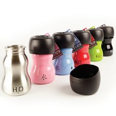 The H2O 4K9 Dog Water Bottles are the best, most durable water bottles out there! They are made from 18/8 human grade stainless steel, lids are toxin-free polyp