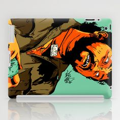 GABBAR iPad Case by Vee Ladwa - $60.00
