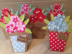 More of my flower pot cards