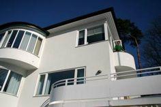funkis Bauhaus, Modern Architecture, Minimalism, Sweet Home, Art Deco, Facade, Exterior, Contemporary, Design