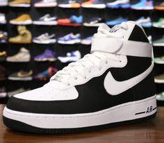 Nike Air Force 1 GS Schuhe black-vivid pink-white 36