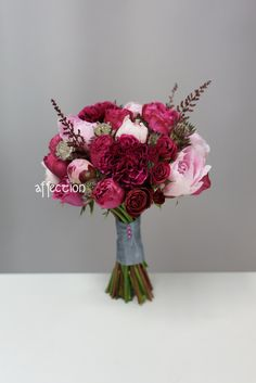 Fresh Flower Wedding Bouquet