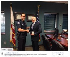 Great Facebook post from the Azusa Police Department / Sympathique post Facebook du commissariat d'Azusa https://www.facebook.com/AzusaPD/photos/a.389110447873093.1073741824.332330220217783/809705329146934/?type=3