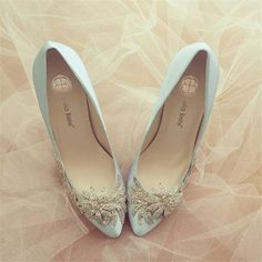 Something Blue Wedding Shoes with Crystal Vine Applique Beading Embellishment Sa. , Something Blue Wedding Shoes with Crystal Vine Applique Beading Embellishment Sa. Silver Wedding Shoes, Bridal Wedding Shoes, Blue Bridal, Sequin Wedding, Wedding Blue, Wedding Music, Wedding Dresses, Wedding Vintage, Silver Shoes