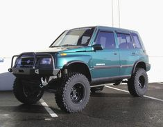 lifted suzuki sidekick - Rednecks dream commuter car