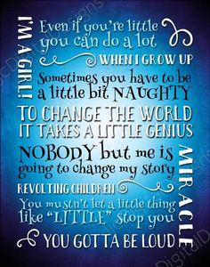Matilda Inspired Fan Art, Printable Matilda Broadway Musical lyrics, little genius, Word Art Poster, Matilda Broadway, Matilda Quotes, Broadway Quotes, Teenage Girl Room Decor, Growing Up Girl, Family Show, Harry Potter Fan Art, Word Art
