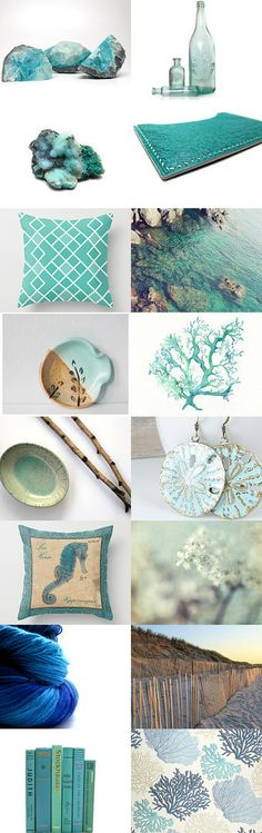 Rough Aquamarine by Erin on Etsy--Pinned with TreasuryPin.com