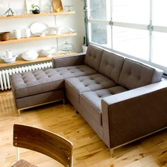 Gus* - Jane LOFT Bi-Sectional...our future sectional!