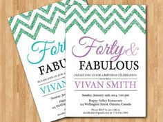 ... 00 Birthday Trip, 40Th Birthday Ideas For Women, Birthday Invitations